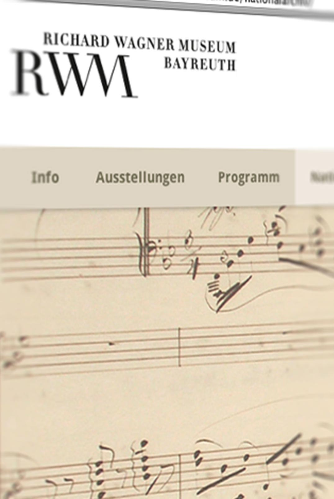 Website Richard Wagner Museum