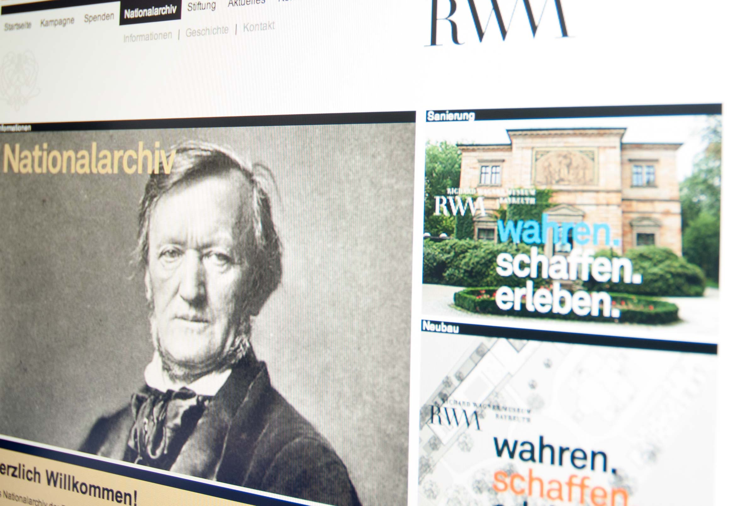Corporate Design Wagner-Museum