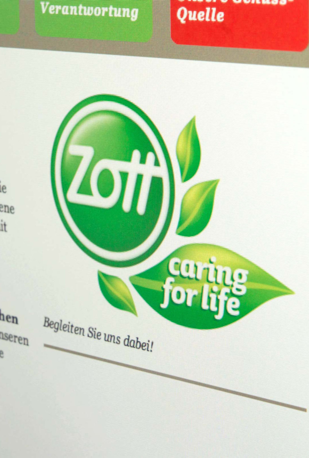 Zott – Caring for Life
