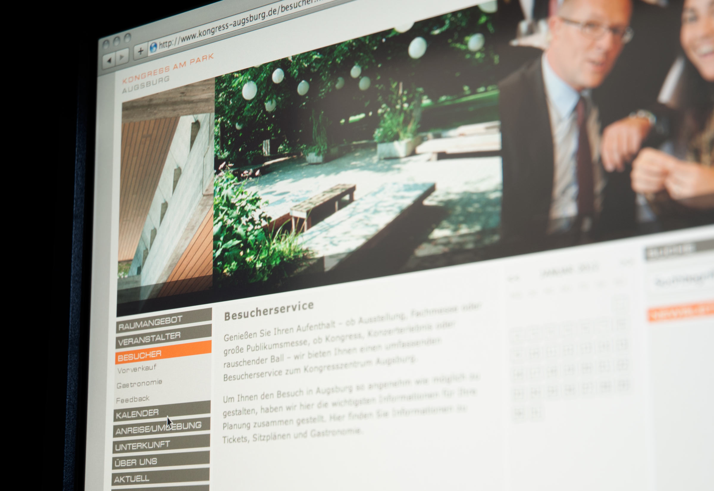 Website Kongress am Park