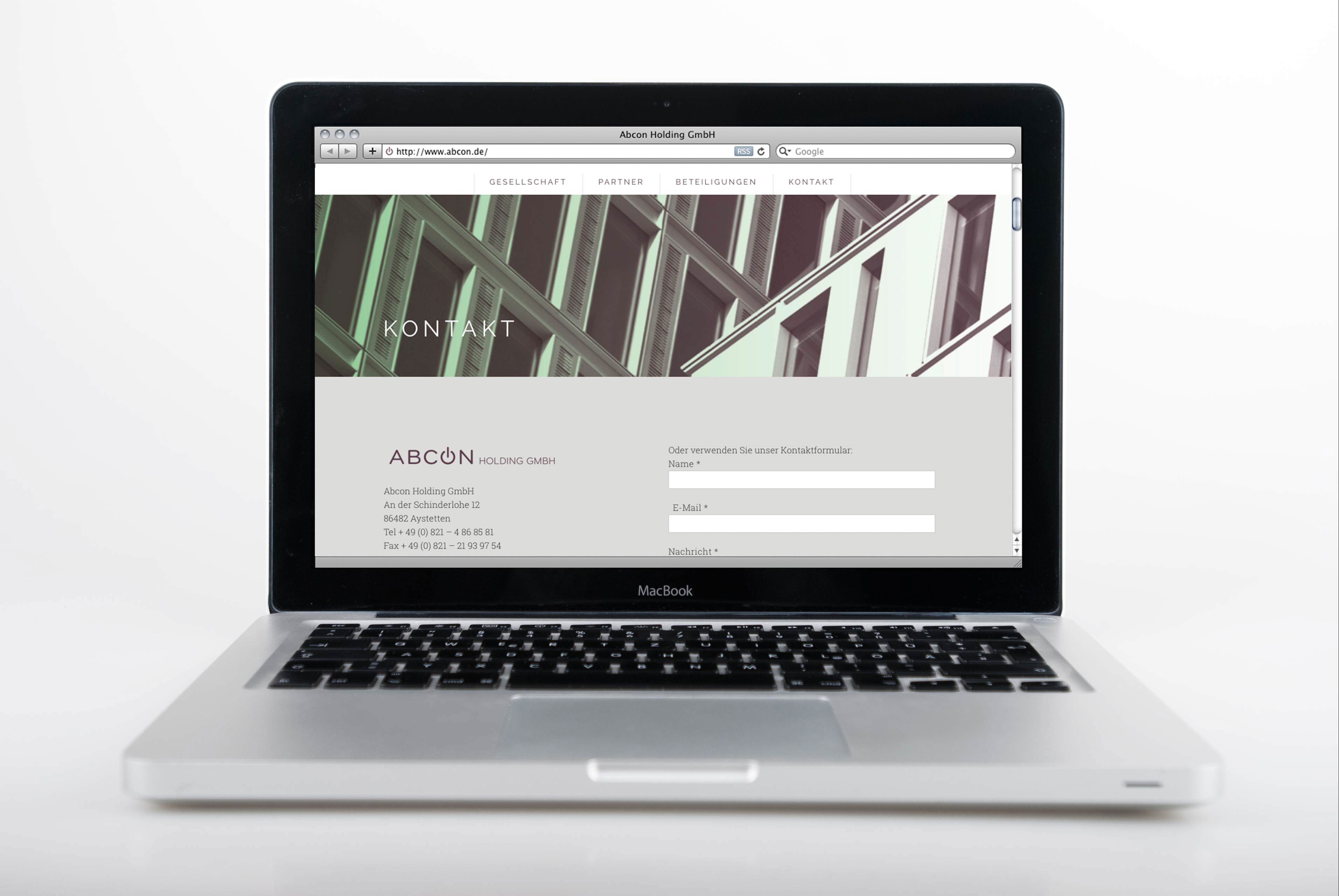 Website Abcon